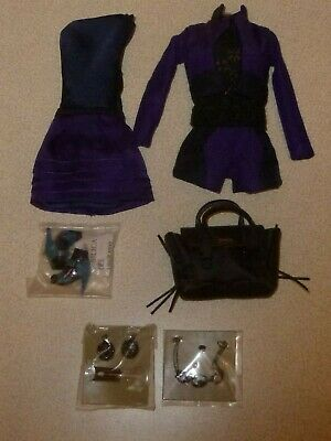 Fashion royalty Annik Pop of Color - Nu Face - complete outfit - new & mint HTF.