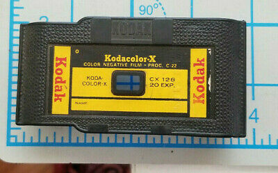 Vintage Kodak Kodak Color X 126 Film Cartridge