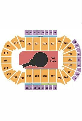 2 Tickets Foo Fighters 10/15/20 Resch Center Green Bay WI  Sec 225
