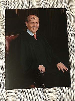 Stephen Breyer Signed 8x10 Photo Autographed US Supreme Court Justice