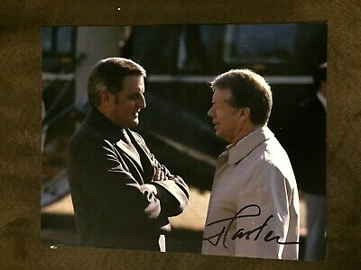 President Jimmy Carter Signed 8 X 10 Photo Autographed