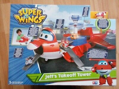 "Super Wings ""Jett's Takeoff Tower"" Neu und OVP"
