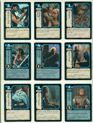 Xena Warrior Princess- Ccg-Trading Card Game- Complete Set Of 180 Cards-First Ed