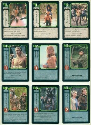 Hercules -Ccg -Trading Card Game- Complete Set Of 180 Cards- First Edition- Xena