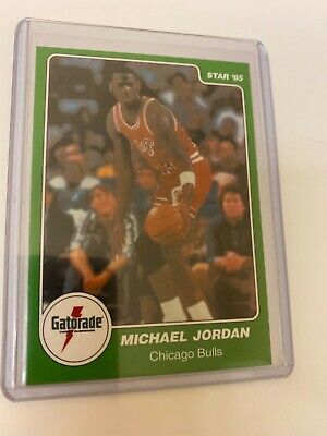 Michael Jordan 1985 STAR Gatorade #7 RC! HOF! The Last Dance! Perfect! $!