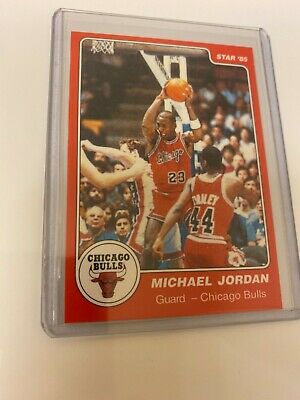 Michael Jordan 1985 STAR #101 RC! HOF! The Last Dance! Perfect! $! Hard to find!