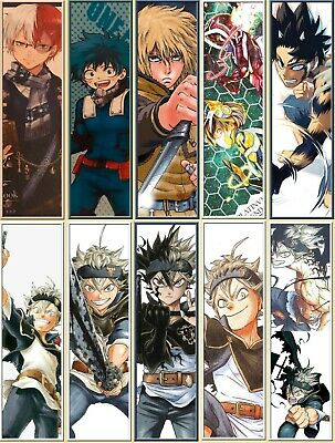 Lot MG19 - 10 Marque-pages (Mangas )