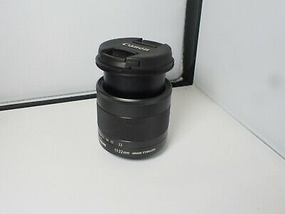 Canon EF-M 11-22mm f/4.0-5.6 STM IS Lens plus filter