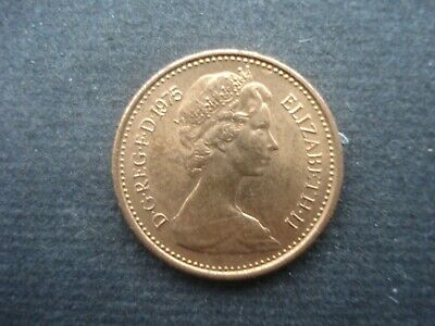 Great Britain 1975 Decimal One Half Penny Excellent Condition
