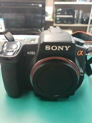 Sony Alpha a350 14.2MP Digital SLR Camera with lenses!