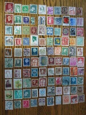 Henry's Stamps- 053001 - 100 Different Worldwide-Small Format-Used/Off Paper-