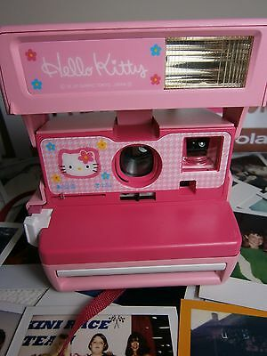Polaroid pink kitty  RARE Camera-Instant+FILM INCLUDED IDEAL***  GIFT*****