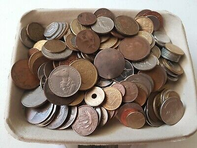 1 kg of Mixed World Coins lot2