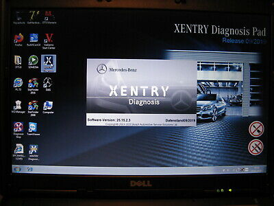 Mercedes Star Diagnose SDconnect Xentry 092019 MB DAS Vediamo DTS Monaco WIS EPC