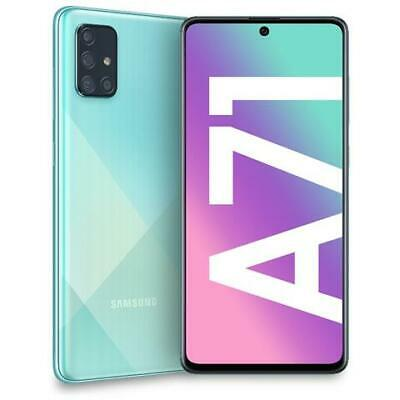 "Galaxy A71 Prism Crush Blu 128 GB 4G / LTE Dual Sim Display 6.7"" Full HD+ Slot"