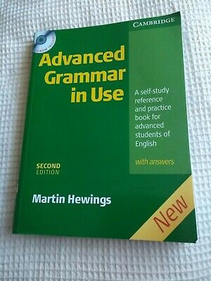 Advanced Grammar in Use with Answers by Martin Hewings (Paperback, 2005)