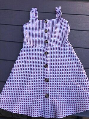 girls river island dress 7-8 years