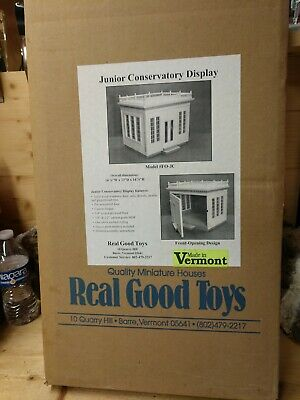 "Real Good Toys  "" JUNIOR CONSERVATORY DISPLAY "" Kit 1"" scale"