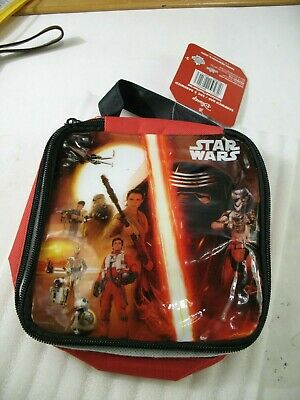 Star Wars isolated sandwich zippered bag new with tag