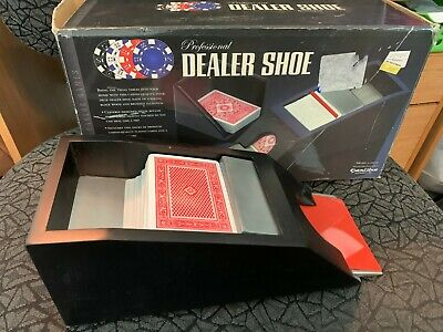 Professional Dealer Shoe in box Excalibur with cards