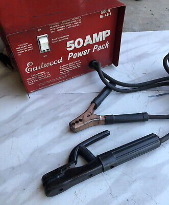 Eastwood 50 Amp Power Pack Welder Tested & Working Rare