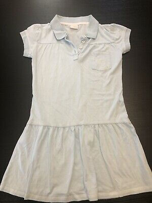 Girls NEXT Supercute Light Blue T Shirt Dress Age 10yrs. Exc Cond