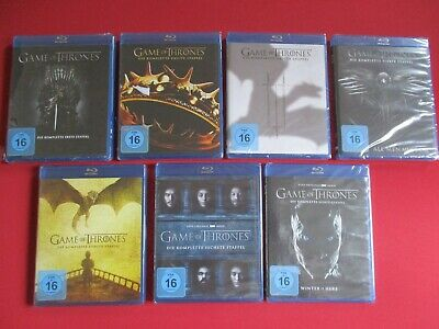Game of Thrones - Die kompletten Staffeln 1 + 2 + 3 + 4 + 5 + 6 + 7 - NEU & OVP