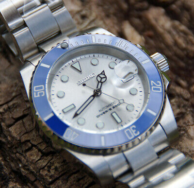 Submariner Automatic - Seiko Dial - Stainless Steel Custom Watch