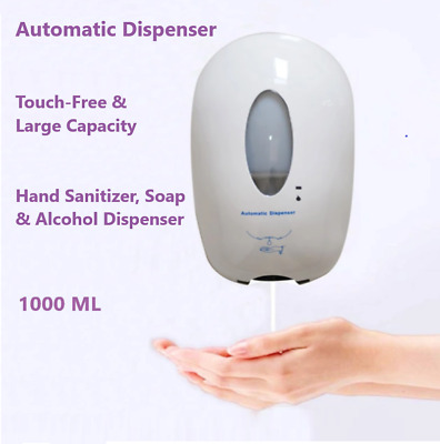 1000ML Touchless Automatic  Gel Hand Soap Dispenser Commercial Grade