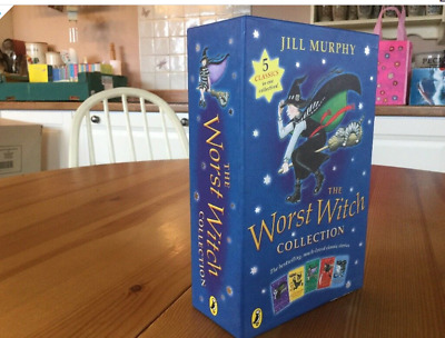Jill Murphy The worst Witch Collection 5 books (Free Postage)