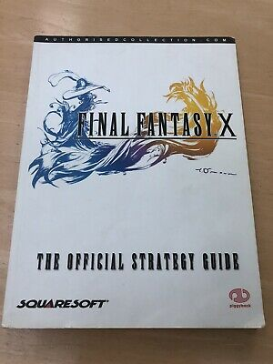 Final Fantasy X Official Strategy Guide by Piggyback