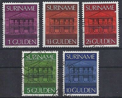 Suriname Surinam Dutch Guiana 1975 / 705 - 706 - 707 - 708 - 709 Gestempelt Used
