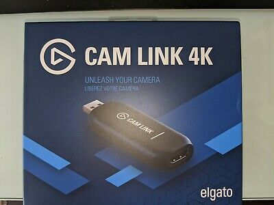 BRAND NEW Elgato Cam Link 4k HDMI Device FREE SHIP| SHIPS TODAY