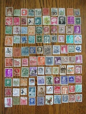 Henry's Stamps- 053007 - 100 Different Worldwide-Small Format-Used/Off Paper-
