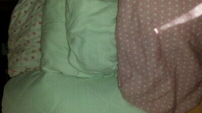 4 x  Fitted cot  Sheets  mothercare  etc. and  waterproof mattress protector