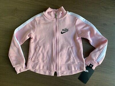 New Nike Girls Pink Tracksuit Jumper Size 3-4 Years