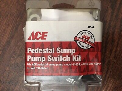 NEW ACE #44144 Pedestal Sump Pump Switch Fits 44059 43815 45201