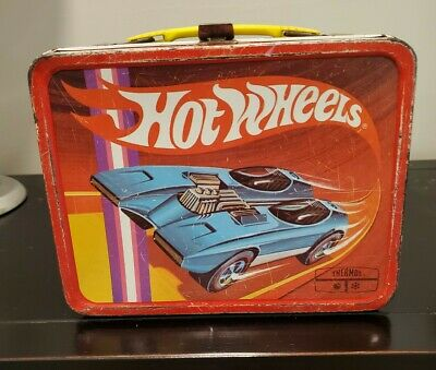 Vintage 1969 Hot Wheels Lunchbox - No thermos
