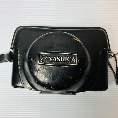 Yashica Electro35 35mm Black Rangefinder film Camera Japan WITH CASE