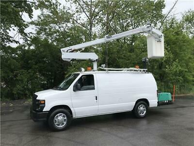 2008 Ford E350 DUR-A-LIFT 35ft Bucket Van Only 95k 1 Owner No Reserve