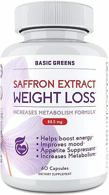 Pure Saffron Extract 1 Appetite Suppressant Diet Weight Loss