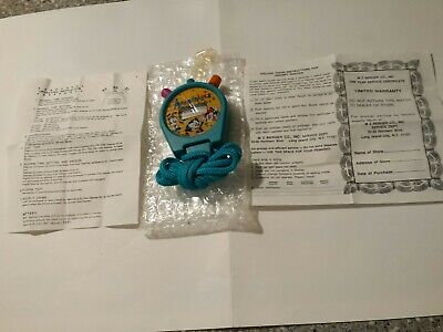 Vintage 1994 Animaniacs Stopwatch. Never out of the package until now.
