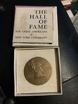 Hall Of Fame For Great Americans Emma Willard Bronze Medal