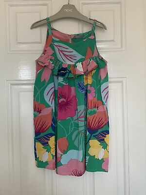 Next Girls Floral Sun Dress Age 4 Years