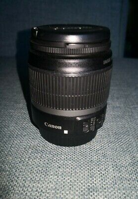 Canon EF-S 18-55mm f/4-5.6 IS STM Lens with image stabilizer