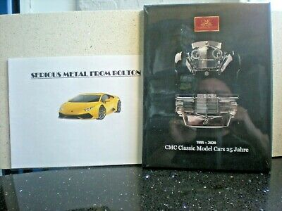 Cmc Model Cars 25 Year History Book Limited Edition 1000 Only
