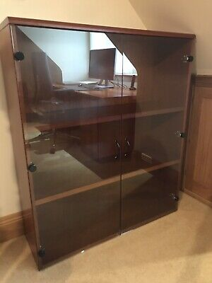 Corniche Cherry Glazed Bookcase