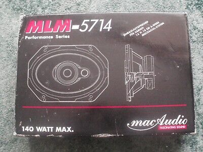 Mac audio car speakers 140w MLM-5714