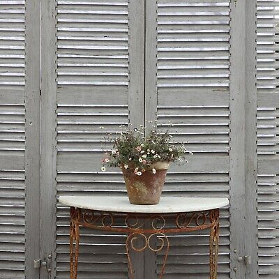 Vintage Large French Shutters