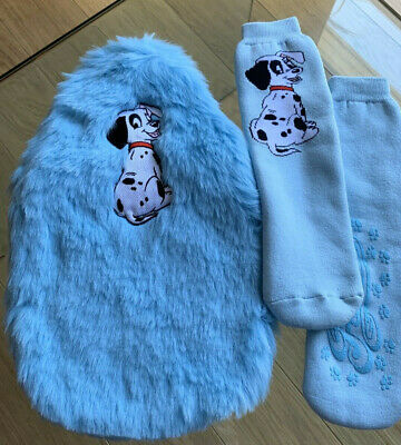 Disney Hot Water Bottle And Bed Socks Set